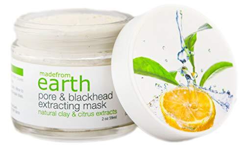 ماسک پاک کننده بلک بلک - عصاره های ارگانیک خاک رس طبیعی برای پاک کردن پوست صورت ، 2oz