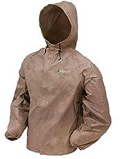 Frogg Toggs Ultra-Lite2 Rain Jacket, Mens, Xtreme Lite Jacket, UL62104, Khaki, Small