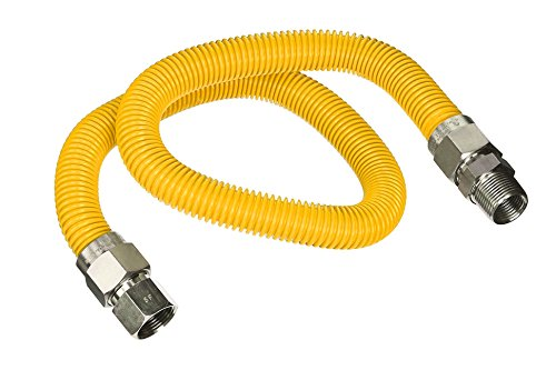 flextron-ftgc-yc12-36p-36-inch-flexible-epoxy-coated-gas-line-connector-with-5-8-inch-outer-diameter