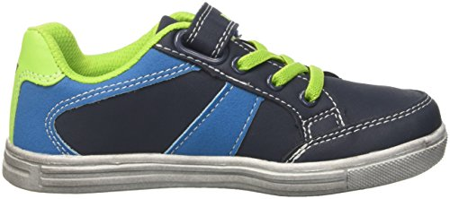 GEKA Club Vs, Zapatillas Para Niños Azul (Marine/blau/lemon Marine/blau/lemon)