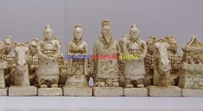 New Chinese Chess Set (Terracotta Warriors) 32 Pieces - Medium Size (Chess Only)