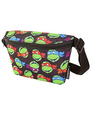 FYDELITY Fanny Pack Belt Bag Ultra Slim NICK Nickelodeon Teenage Mutant Ninja]()