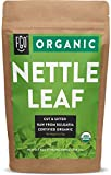 Organic Nettle Leaf - Herbal Tea (50+ Cups) - Cut & Sifted - 4oz Resealable Bag - 100% Raw From Bulgaria - by Feel Good Organics