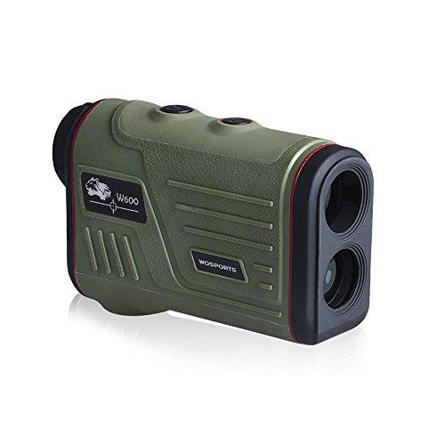 Hunting Rangefinder, Laser Range Finder for Hunting with Ranging and Speed (600 Yards)