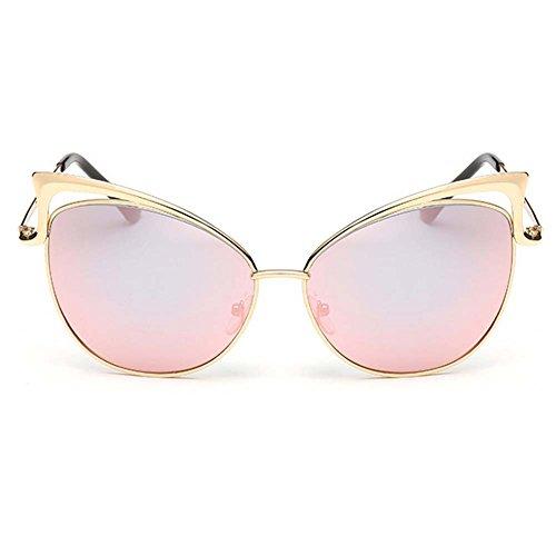 My.Monkey European And American Fashion Personality Female Cateye Metal Frame - Gargoyle Terminator Sunglasses