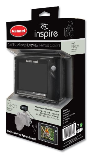 Hahnel Inspire Wireless Remote with Liveview Display for Nikon by Hahnel