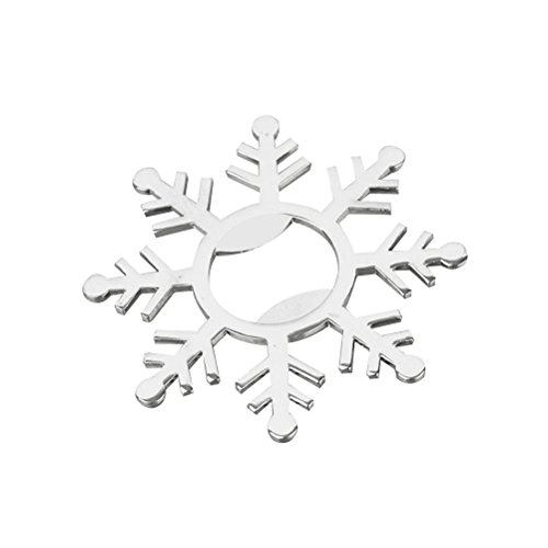 BESTOYARD Snowflake Bottle Opener Beer Openers Bar Tools Party Accessories Wedding Favors ()