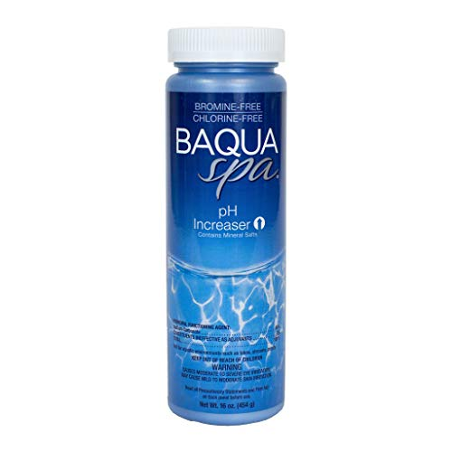 (Baqua Spa 83818 Increaser with Mineral Salts Spa pH Balancer, Clear)
