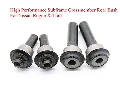 Frame Bush (Engine Cradle Subframe Crossmember Bush F&R Kit For Nissan Rogue X-Trail Juke Le)