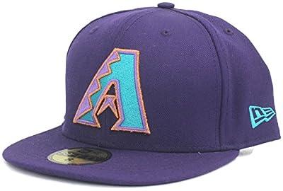 New Era 59Fifty MLB Arizona Diamondbacks Authentic Collection on Field Alternate Cap, Size 8, Purple