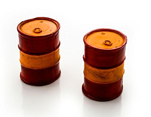 American Diorama 1/24 Accessory - Oil Drum (Set of 2)