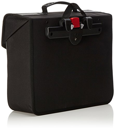 Haberland - Einzeltasche 16 Liter, Metalschloss, Tragegriff Schwarz