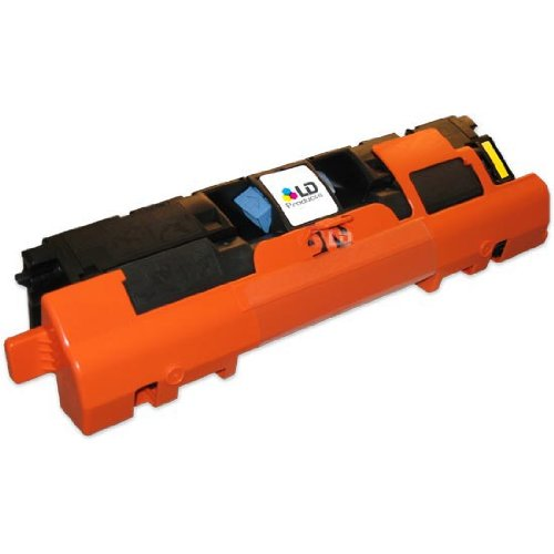 LD Remanufactured Replacement for HP 122A / Q3962A Yellow Laser Toner Cartridge for Color LaserJet 2550, 2550L, 2550Ln, 2550N, 2820, 2830, 2840