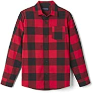 French Toast Boys Long Sleeve Flannel Shirt
