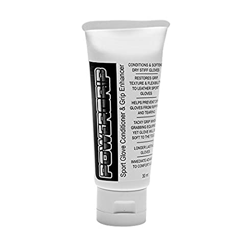 Sports Glove Conditioner by Powergrip Helps Prevent Leather Sport Gloves From Drying, Stiffing, Ripping & Tearing Which Will Give You Longer Lasting Gloves.