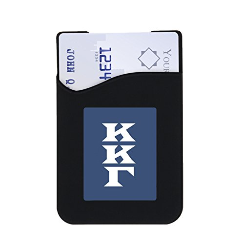 Kappa Kappa Gamma Phone Wallets with 3M Adhesive for Phones & Cases (Chic Designs: Floral, Greek Monogram & Greek Letters)645759575159 (Greek Letters)