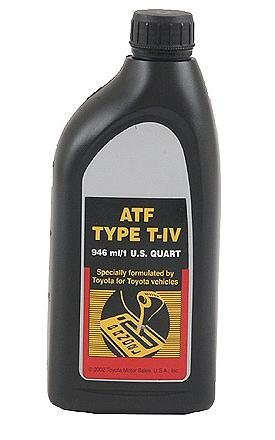 TOYOTA Genuine Lexus ATF Type T-IV Automatic Transmission Fluid OEM 12 Quart Type-4 ()