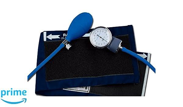 Gima 32704 YTON - Esfigmomanómetros, sin látex, color azul: Amazon.es: Industria, empresas y ciencia