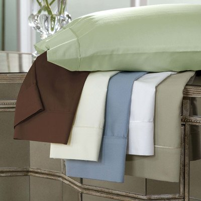DreamFit 3-Degree 300 Thread Count Select World Class Cotton Pillowcase Set, King, ()