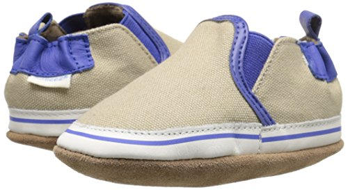 Robeez Liam Soft Sole Crib Shoe (Infant), Taupe, 6-12 Months M US by Robeez (Image #6)