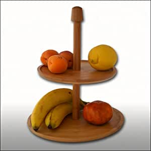 Estantería frutero o aperitivos – Torta de pie - 30 cm