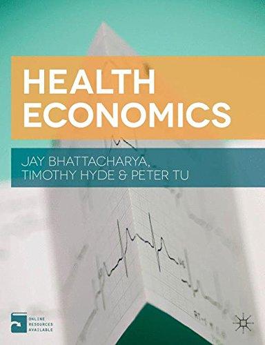 113702996X - Health Economics
