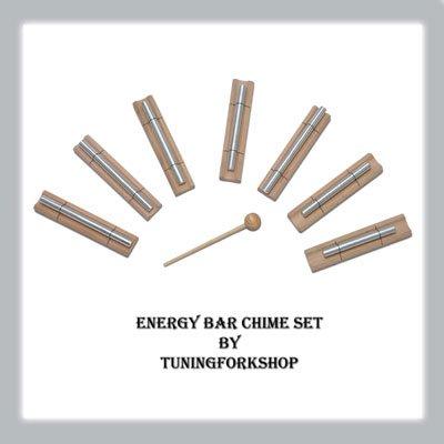 TFS Tuningforkshop Sound Healing 7 Chakra Energy Bar Chime Free Shipping (Sound Energy)