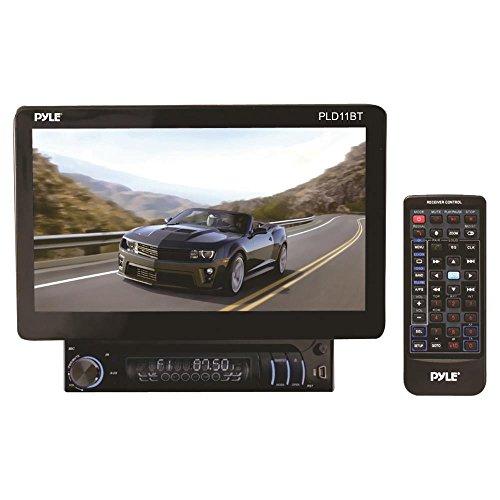 Pyle PLD11BT Touch Screen Control - Motorized & Detachable D