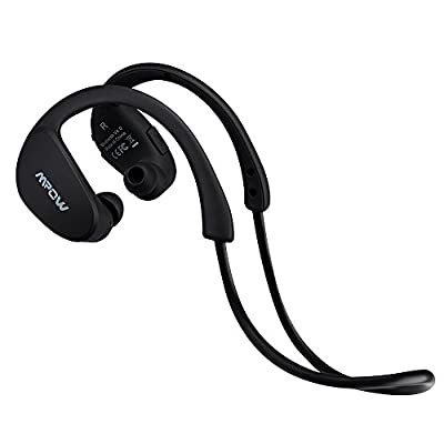 Mpow® Seal Bluetooth 4.0 Wireless Stereo Running, Sport Headphones Earpiece Earbuds with Aptx, Mic Hands-free Calling for iPhone 6, 6 Plus, 5S 5C 5 4S, Galaxy Note 3 2 S4 S3 and other Cellphones