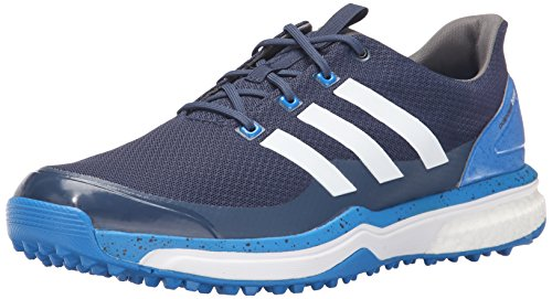 Cleated Shoes (adidas Men's Adipower S Boost 2 Golf Cleated, Mineral Blue S16/FTWR White/Shock Blue S16, 10.5 M US)