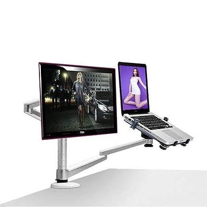 amazon com oa 7x multimedia desktop dual arm 25inch lcd monior rh amazon com