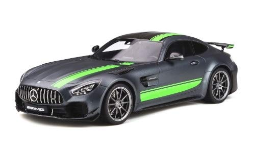 Mercedes AMG GT-R Pro GT Spirit 1:18 2019 Modellauto matt-grau//gr/ün Fertigmodell