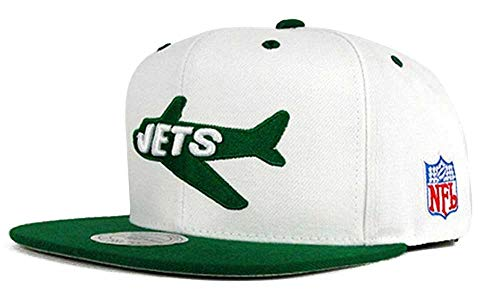 Mitchell & Ness New York Jets NFL 2 Tone Fitted Hat (7 3/4)