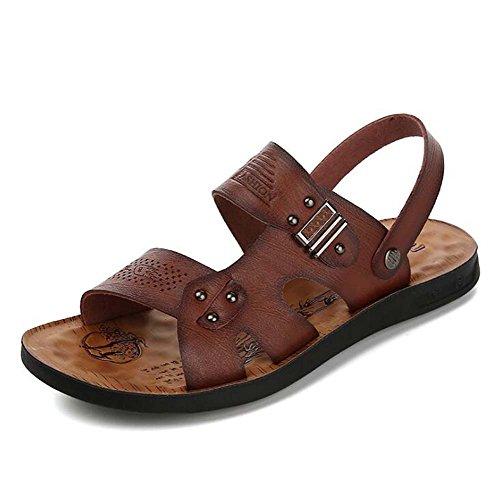 amarillo Sección Hombres Playa Marrón Slip Talla Moda Marea 38 44 Para Zapatos Marrón khaki De Transpirables Sandalias PIwqpy4F