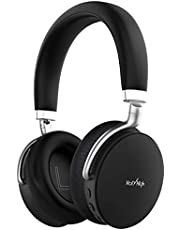 Noise Cancelling Bluetooth Headphones HolyHigh Active Noise Cancelling Wireless Over Ear Headphones with Hi-Fi Sound 20-Hour Playtime Microphone 3.5mm Audio Cable for TV/PC/Cell Phone