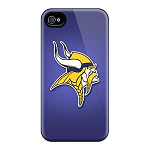 Shockproof Hard Cell-phone Case For Iphone 6 (kbt15670XVTz) Provide Private Custom High Resolution Minnesota Vikings Image