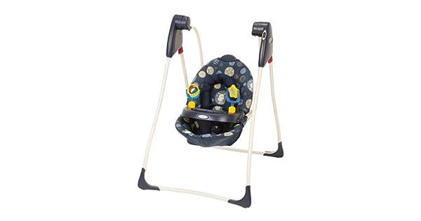Amazon.com: Graco Compact Infant Swing en mosaico Vaca: Baby