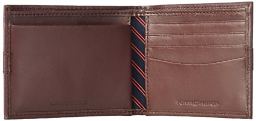 Tommy Hilfiger Men's Ranger Leather Passcase Wallet, Burgundy by Tommy Hilfiger (Image #4)
