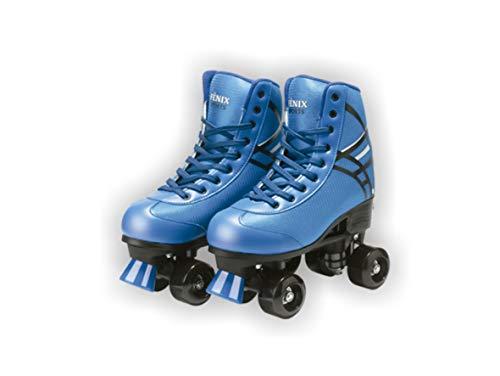 Patins Quatro Rodas Roller Skate Fenix Azul