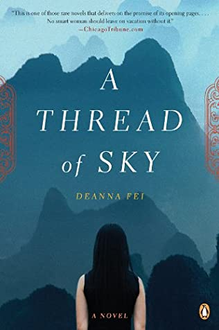book cover of A Thread of Sky