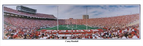 Everlasting Images Wisconsin Badgers Camp Randall Black Framed Photo by Everlasting Images