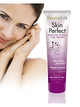 Dermasilk Skin Perfect - Anti Aging Moisturizer Cream Diminishes Wrinkles on Face, Neck & Body 6.5 oz Biotech Corporation 5274