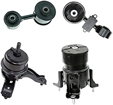 Engine Motor /& Transmission Mount 4PCS For 2007-2011 Toyota Camry 2.4L Auto