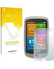 upscreen Antireflecterende Schermbeschermer compatibel met Mitac Mio Cyclo Discover Anti-Glare Screen protector, mat, ontspiegelend, antikras