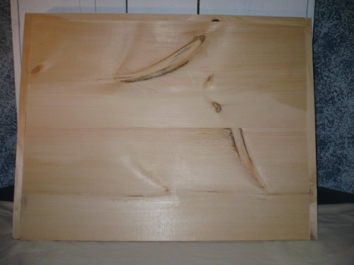 """Unfinished Noodle Board or Stove Cover. This Board Will Cover Those Unsightly Burners on Your Stove and with It Being Unfinished Allows You to Decorate It to Match Your Decor! This Board Measures: 30 1/2"""" X 23 1/4"""" X 2"""" (Inside Depth Is 1 1/4"""")"""