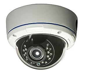 Gawker G830QHDW Sony 2.2MP Sensor Dome CCTV Security camera, 1080P 4 in 1 HD-TVI (default) /AHD/CVI/CVBS video out switchable, True day&night, IP66 Vandal proof, 2.8-12mm lens, IR Smart, DC12V/AC24V.