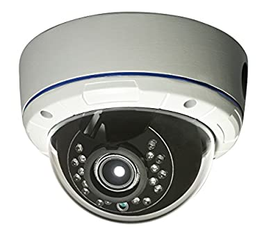 Gawker G830QHDW Dual Voltage Dome Camera, White from Sequtec Inc D.B.A. AVUE