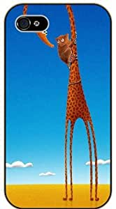 Giraffe and monkey - Case For Sam Sung Galaxy S5 Mini Cover black plastic case / Animals and Nature, friendship