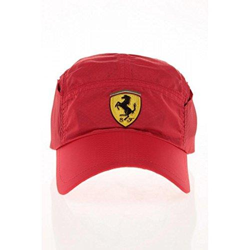 Ferrari Gorra roja ventilación