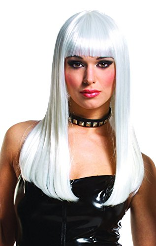 Costume Culture Women's Mistress Wig Deluxe, Platinum, One Size (Mistress Costumes)